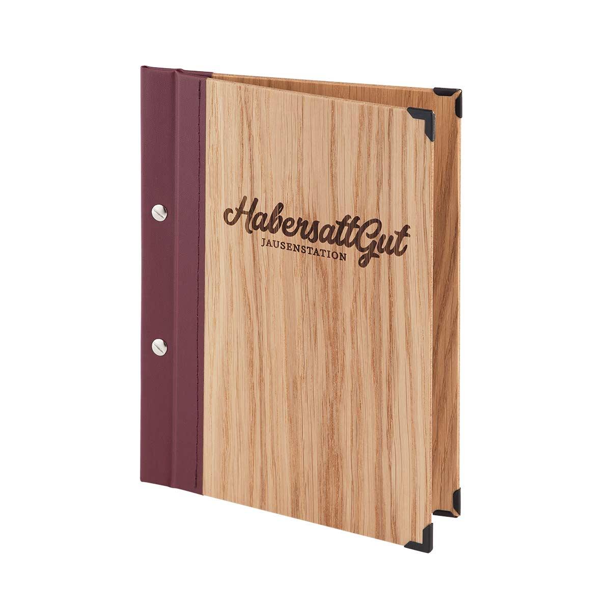 Sepsiekarte aus Holz von Gastrotopcard