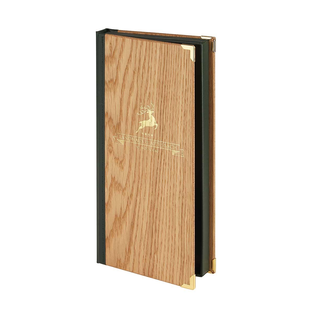 Rechnungsbox aus Holz von Gastrotopcard