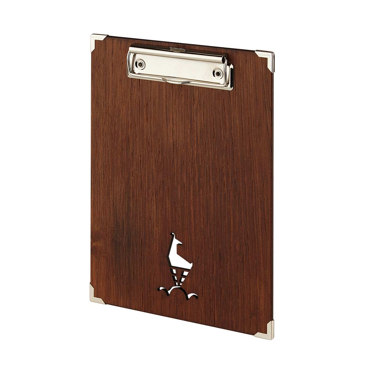 Menuboard aus Holz mit Klemme Gastotopcard